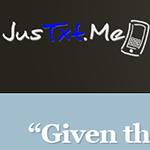 JusTxt.Me Website